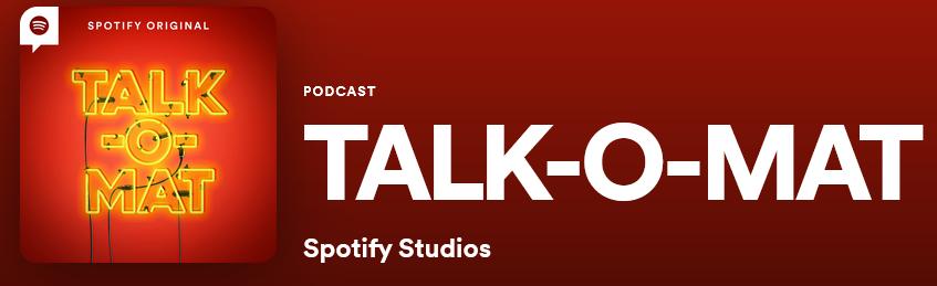 Screenshot talk-o-mat spotify