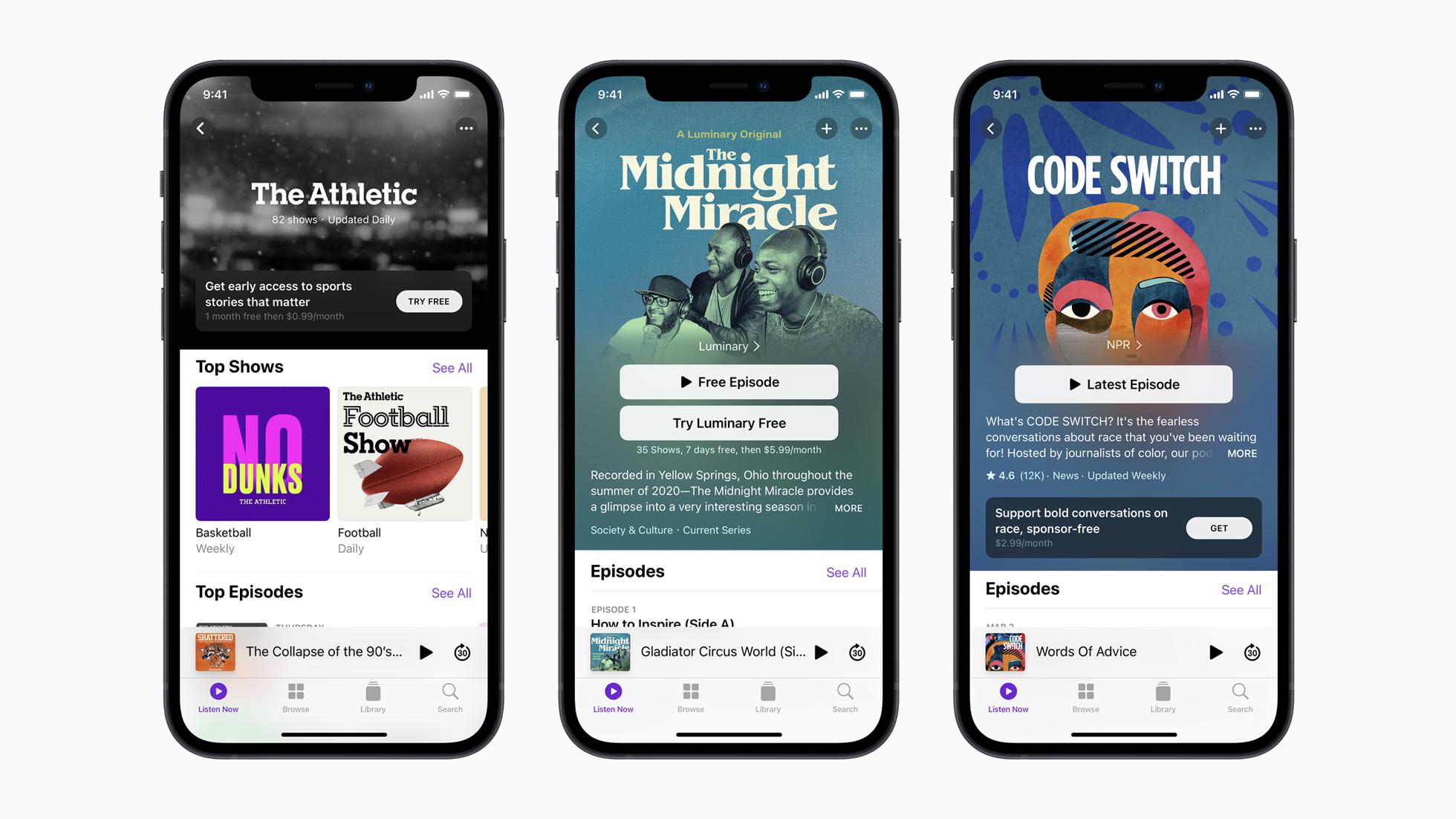 Diesmal wirklich - Apple Podcasts Subscriptions kommt
