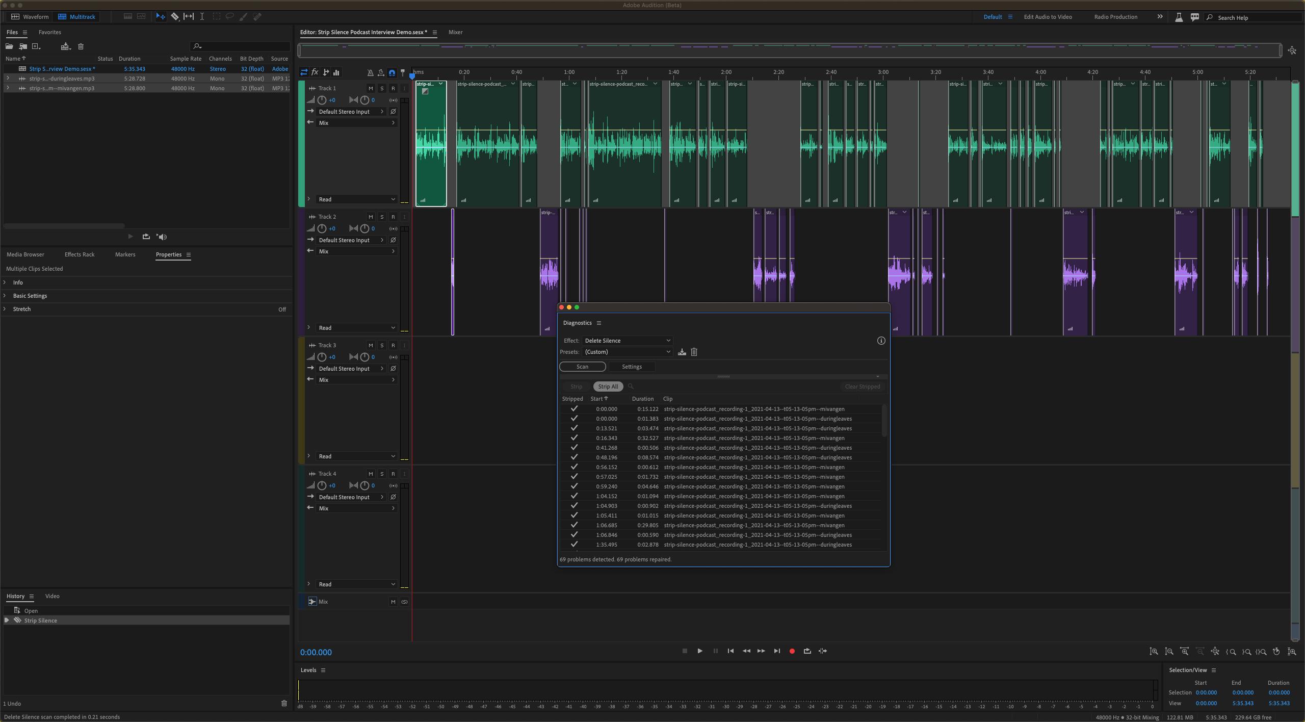Neue Audition-Funktionen revolutionieren Podcast-Schnitt