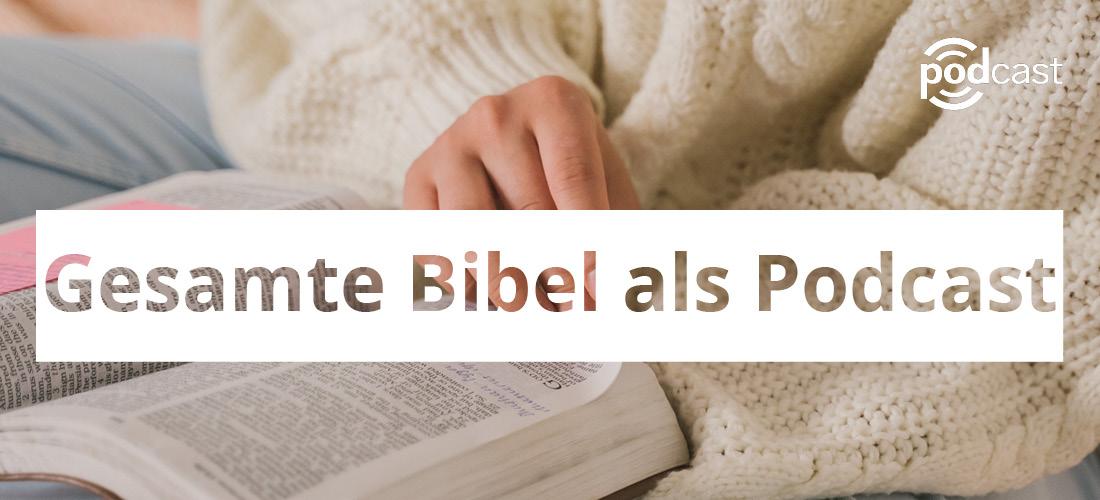 Gesamte Bibel soll als Podcast erscheinen