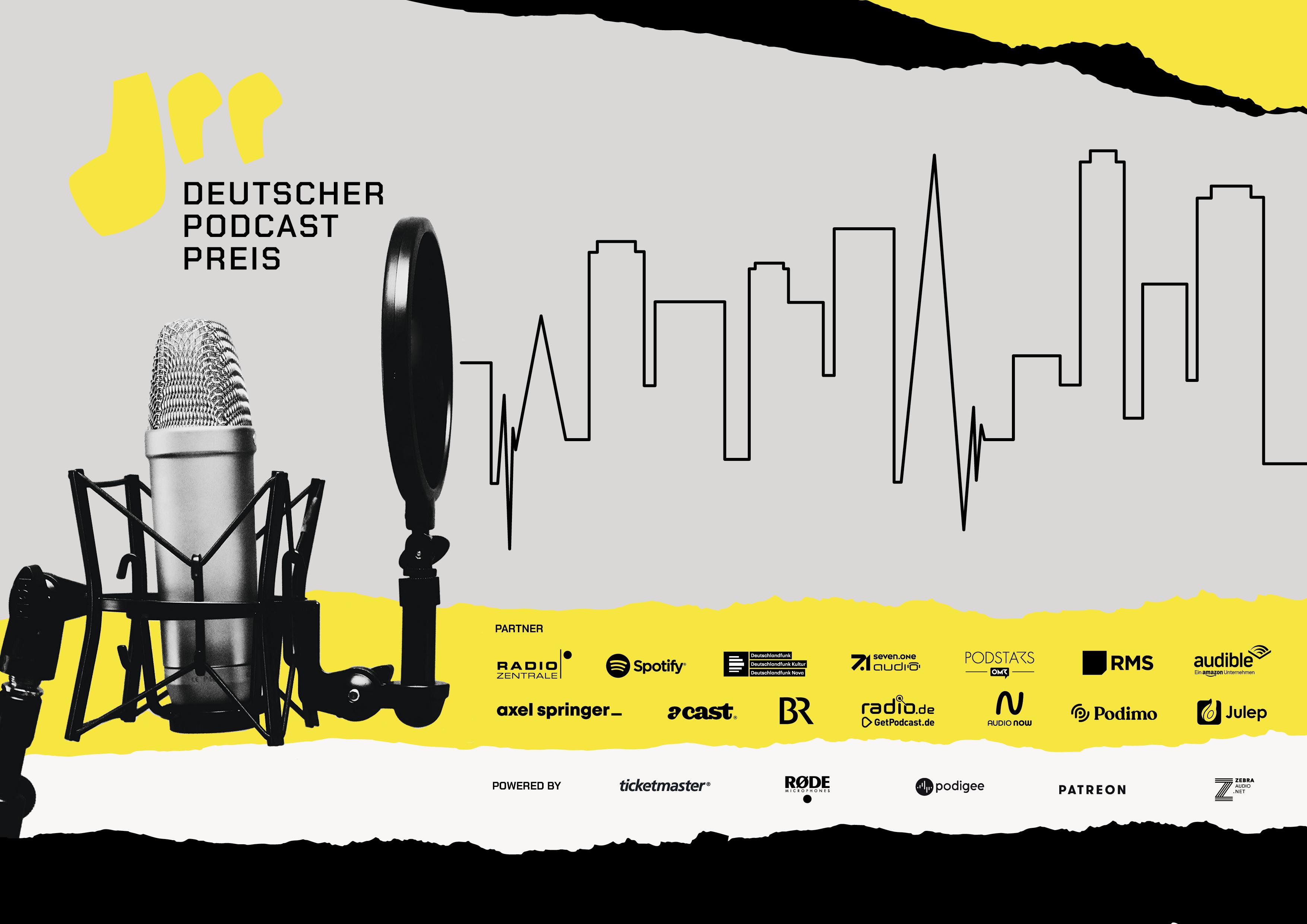 Morgen wird der Deutsche Podcast Preis verliehen
