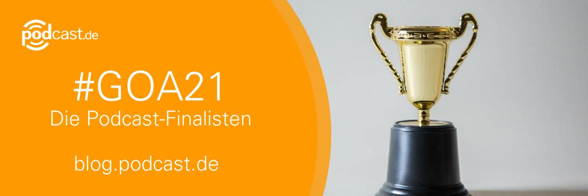 Nominierte Podcasts für den Grimme Online Award 2021