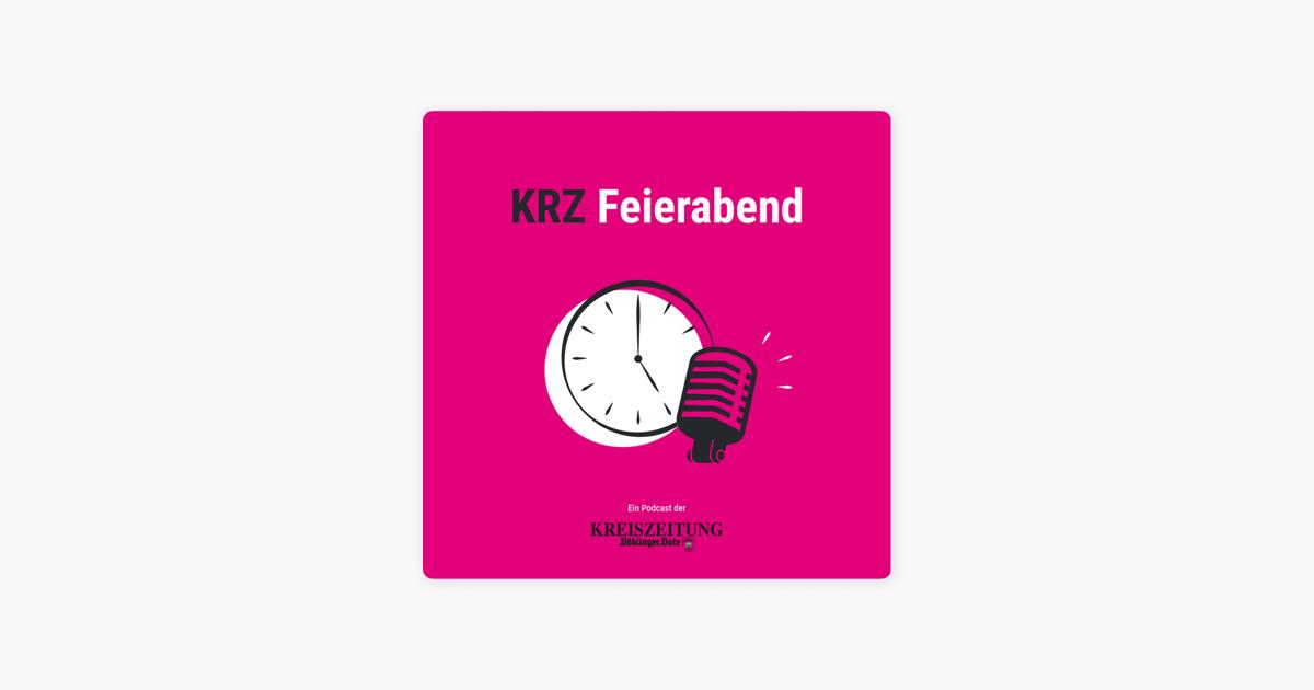 Cover Feierabend Podcast KRZ Böblinger Bote über Telegram