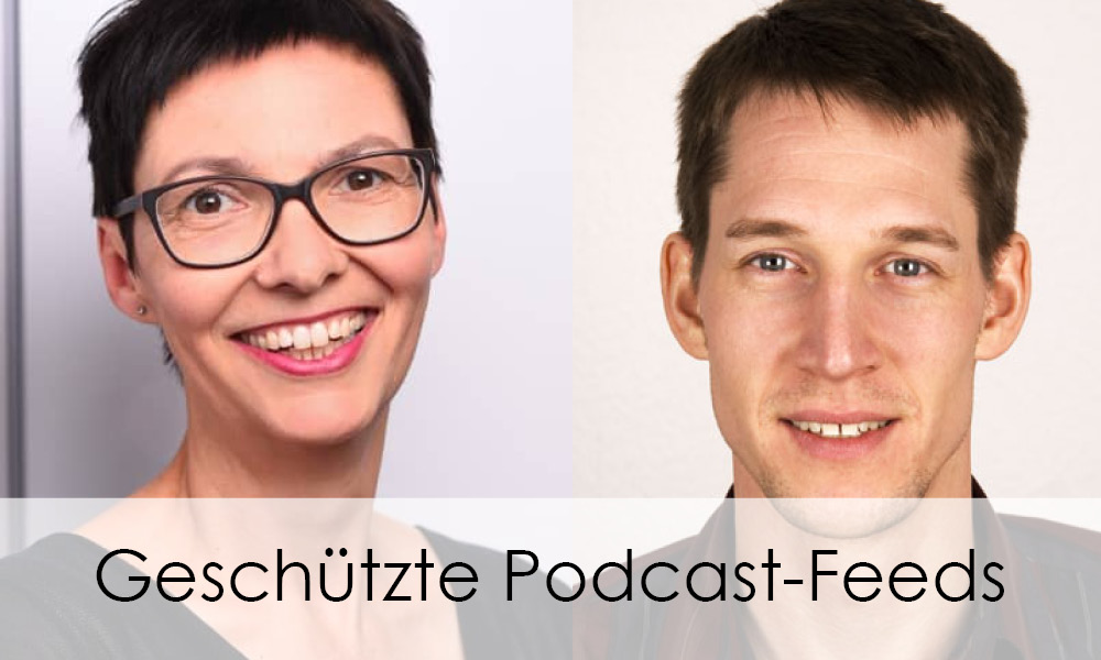 Fabio im Interview zu geschützten Podcast-Feeds