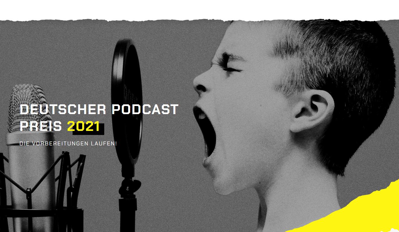 Deutscher Podcast Preis 21 - Das sind die Gewinner