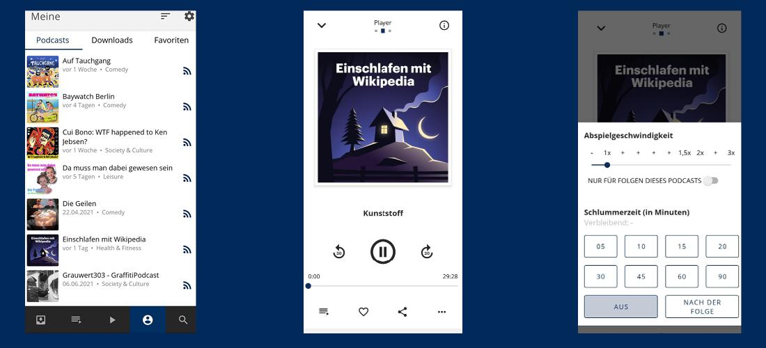 Procast App Screenshots