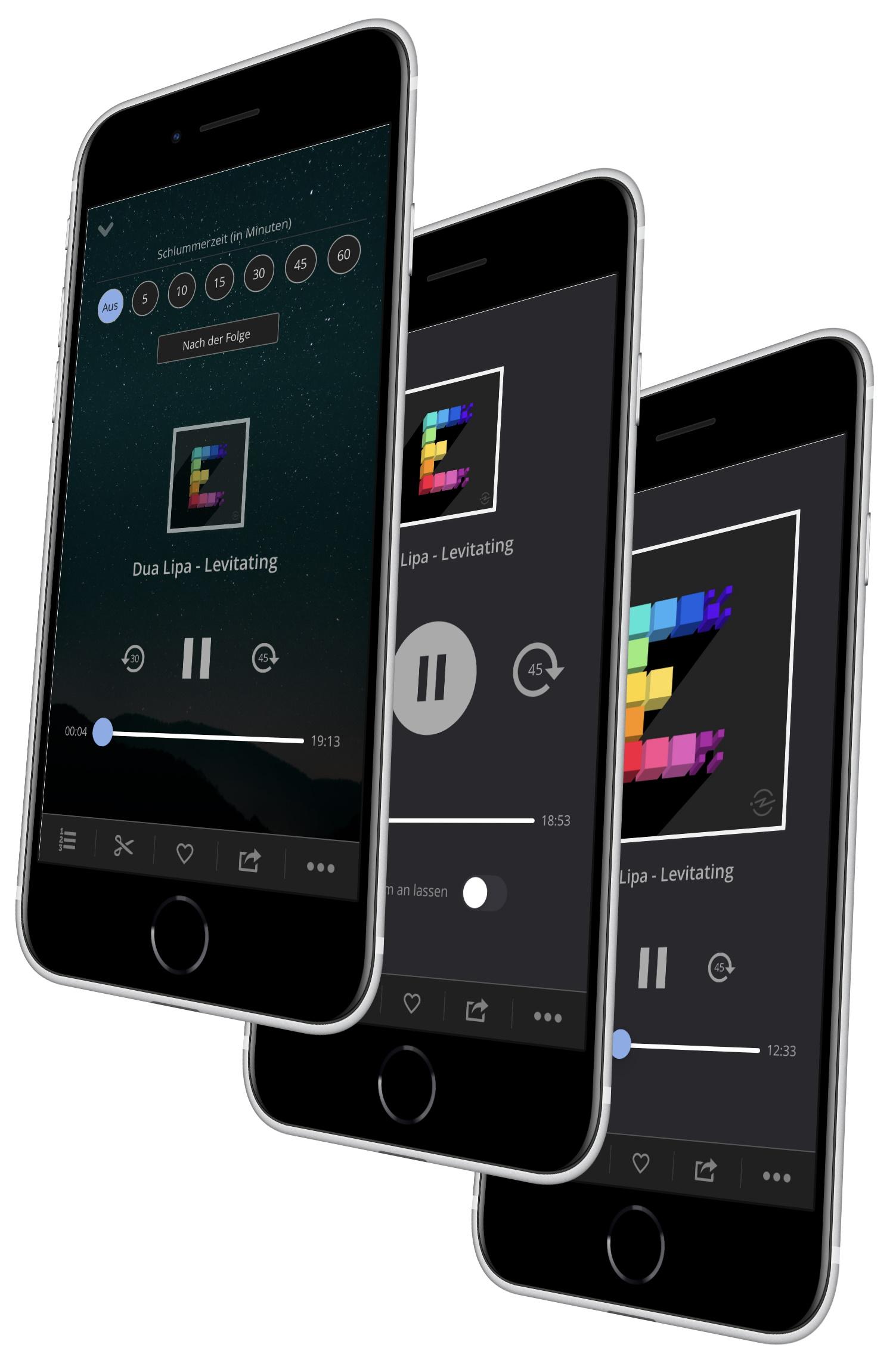 Procast App Custom Player