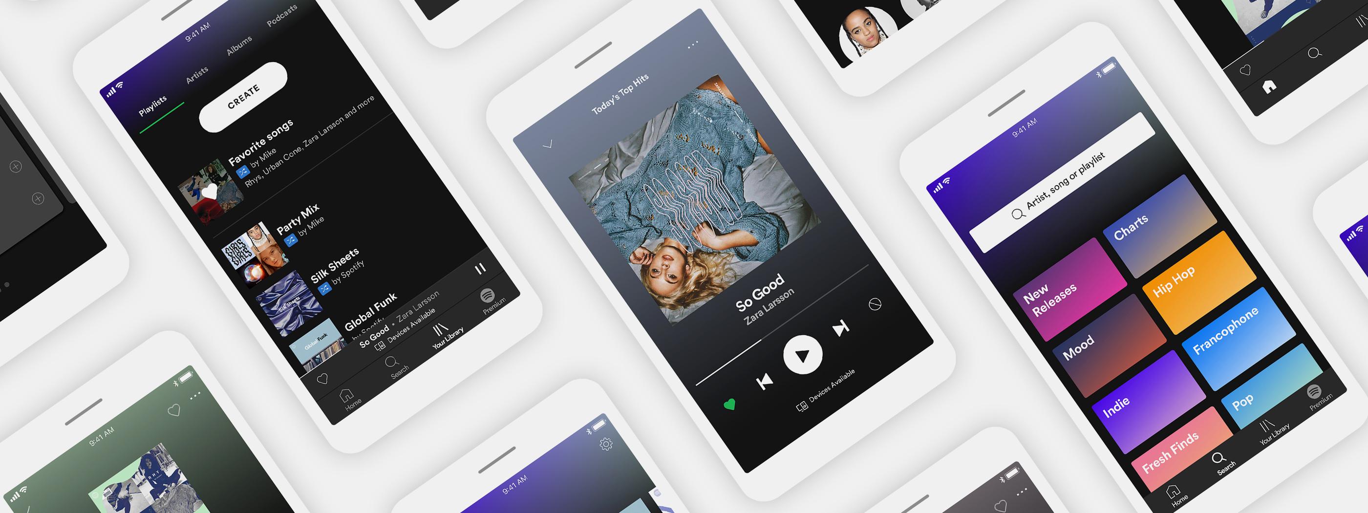 Spotify schaltet Subscriptions frei