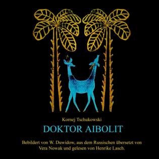 Dr. Aibolit Cover Kinderpodcast für Reisen