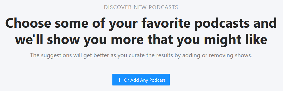 neue podcasts entdecken mit rephonic screenshot